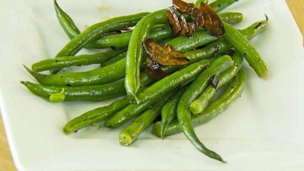 The Guy Cooks Recipe Green Bean Almandine