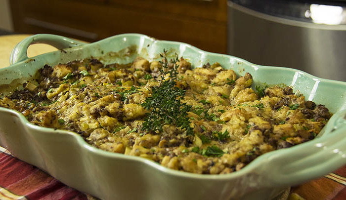 The Guy Cooks Turkey Stuffing