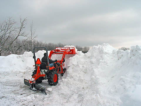 The Guy Cooks Plowing After Lake Effect Snow Chautauqua NY